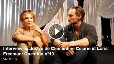 24H DE LA VIE D'UNE FEMME : Interview exclusive de Clémentine Célarié et Loris Freeman - Question 10