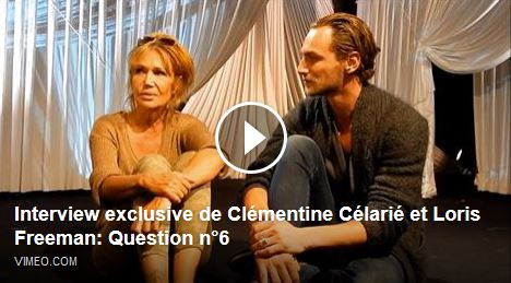 24H DE LA VIE D'UNE FEMME : Interview exclusive de Clémentine Célarié et Loris Freeman - Question 6