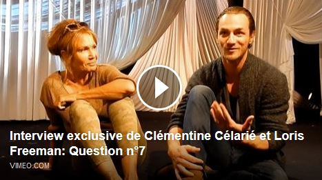 24H DE LA VIE D'UNE FEMME : Interview exclusive de Clémentine Célarié et Loris Freeman - Question 7