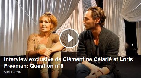 24H DE LA VIE D'UNE FEMME : Interview exclusive de Clémentine Célarié et Loris Freeman - Question 8
